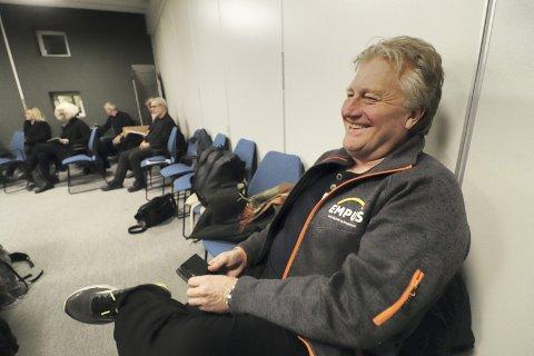Fulgte med: Daglig leder ved Empus AS, Runar Bergstrøm, fulgte møtet i formannskapet sist torsdag fra tilhørerplass. Det var bare godord å høre fra politikerne om den planlagte fusjonen med Veksthuset Kreativ Kompetanse AS. Foto: Pål Nordby