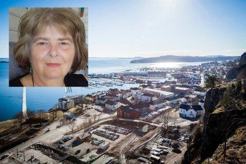 VIL BIDRA: Heidi Birgitte Evensen jobber til daglig som fotterapeut, men har også bakgrunn som hjelpepleier. Hun har meldt seg til tjeneste til kommunen.