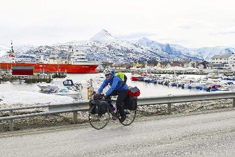 STORSLETT: Bildet er tatt tirsdag, da Helene Grønseth forlot Storslett i Troms. FOTO: WENCHE OFFERDAL