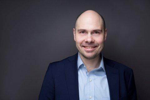 Ny konsernsjef: Anders Opdahl (41) er ansatt som Amedias nye toppsjef etter Are Stokstad. Foto: Amedia