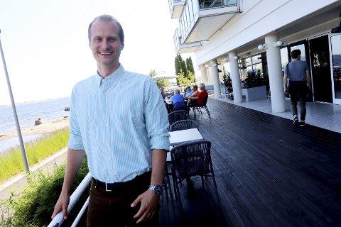 BRA START: For hotelldirektør Kim Kallak-Ertsås. Arkivfoto: Jarl Rehn-erichsen