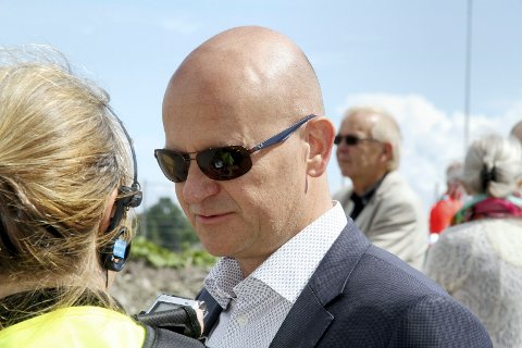 To nye år: Det går mot to nye år som leder for Vestfold og Telemark Høyre for tidligere fylkesordfører Rune Hogsnes. Foto: Pål Nordby