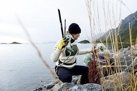 Tidlig i år: Hold Norge Rent har gjort en omlegging av ryddeåret for å få ryddet før fuglene begynner å hekke. – Bli med på Vårryddedagen lørdag 13. mars! Foto: Anders Bastian Nordberg
