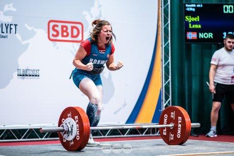 TALENT: Lena Sjøl fra Sande ble tildelt toppidrettsstipend i fjor. Nå har fylkeskommunen kroner å dele ut for 2021.