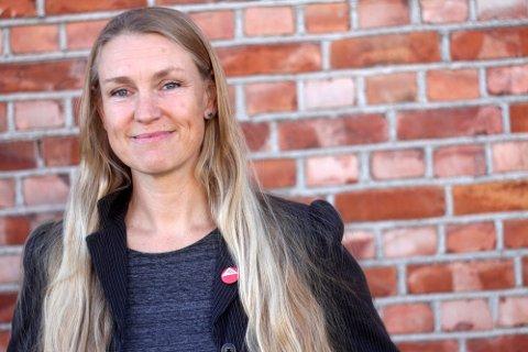 REAGERER MED VANTRO: SVs Grete Wold.