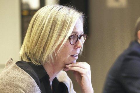 Holmestrand-ordfører Elin Gran Weggesrud.