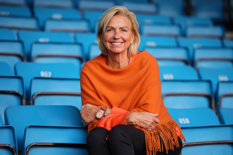Nytt styremedlen i EOC: Idrettspresident Berit Kjøll. Foto: NTB Scanpix