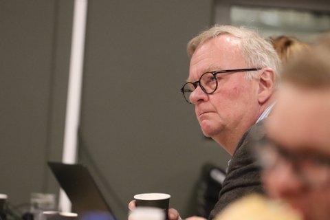 – GROV PÅSTAND: Per Harald Agerup (Sp) mener det er åpenbart at Frp-kravet om lovlighetskontroll er politisk begrunnet, ikke faglig.
