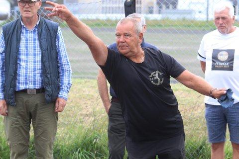 Drar i fra i sammendraget: Johnny Skjørberg ser ut til å ha festet et solid grep om sammenlagtseieren, selv om kun sju runder er spilt. Foto: Pål Nordby