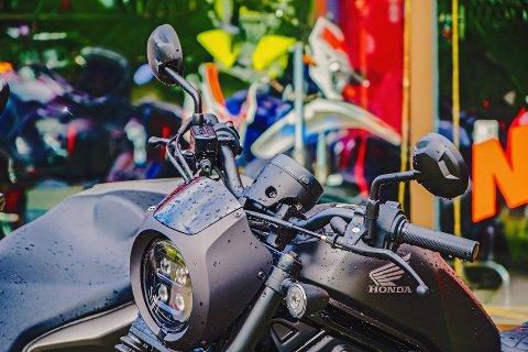 HONDA: Det er fortsatt Honda som ligger på topp i Norge når det kommer til tunge motorsykler. Det gjør den også i Holmestrand. Illustrasjonsfoto