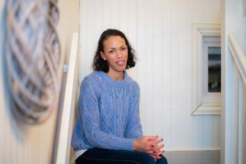 GRUGLEDER SEG: Maria Lewis fra Kløfta forteller at hun er spent i forkant av lørdagens arrangement.