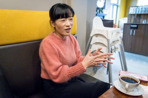 GRÜNDER: Fang Brune fra Jessheim startet forlag og kjøpte rettighetene til den kinesiske barneboksuksessen som hun nå gir ut i Norge.