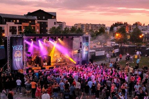GIKK I MINUS: Den første YEZZFEST gikk 50.000 kroner i minus, Kent Årbøe har tro på at de skal redde seg inn på neste års festival.