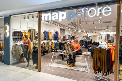 REÅPNET: For bare få dager siden åpnet den danske kleskjeden Mappstore dørene på nytt inne på Jessheim storsenter.