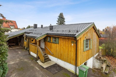 GODT BRUKT: Denne boligen ligger til salgs sentralt på Jessheim med en prislapp på 4,3 millioner kroner