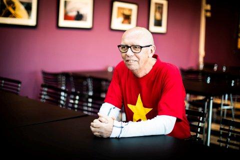 John Jørgen Støa har all grunn til å smile. I 2019 hadde Ullensaker kulturhus rekordsalg for billetter og med det også rekordomsetning.