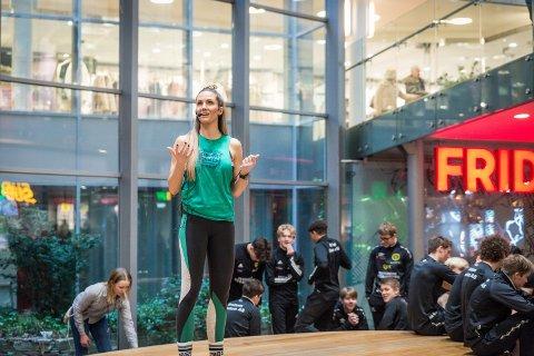 JANUARFRISK: På bloggen treningsfrue.no forteller Camilla Aastorp at hun endelig er igang med treningen igjen etter fire-fem uker med hvile.