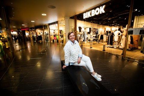VIL JOBBE MED NOE KREATIVT: Når Line Gustavsen snart gir stafettpinnen videre, vil hun bruke tid på å finne tilbake til sine kreative sider.