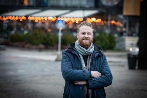 IKKE OVERRASKET: Ullensaker-ordfører Eyvind Jørgensen Schumacher (Ap) er ikke overrasket over at Nye Veier anbefaler en E16-trasé som kan kobles på ved Nybakk.