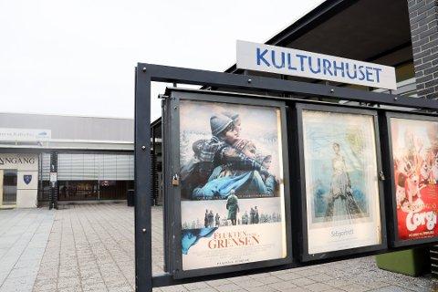 NORSKE FILMER PÅ PROGRAMMET: Ifølge kinosjef ved Ullensaker kino Haakon Drage har de norske filmene så langt gått svært bra i vinterferien.