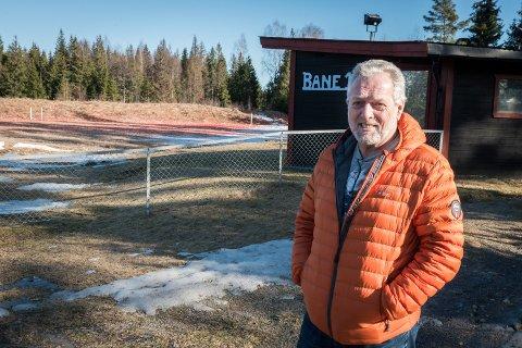 YRENDE JAKTLIV: Bjarne Jødahl i Ullensaker jeger- og fiskerforening forteller at rekrutteringen er god og at man kan skilte med et stabilt medlemstall på 450.