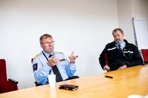 BEKYMRET: Fengselsdirektør ved Romerike fengsel avdeling Ullersmo, Ole Jonny Rydland, har hatt store utgiftger de siste ukene som følge av koronautbruddet.
