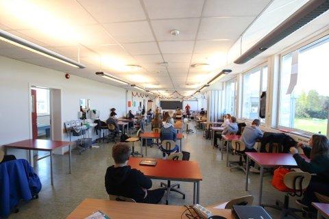 SLIPPER OPP: Ungdomsskolene i Ullensaker har operert på rødt nivå den siste tiden.
