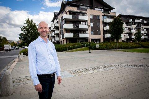 POSITIV: Tom Fjalestad i Utleiemegleren er optimistisk med tanke på utleiemarkedets fremtid.