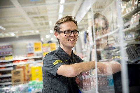 GODE TIDER: Administrerende direktør i Rusta, Erlend Kramer, ser fram mot å endelig kunne etablere kjeden i Garddermoregionen.