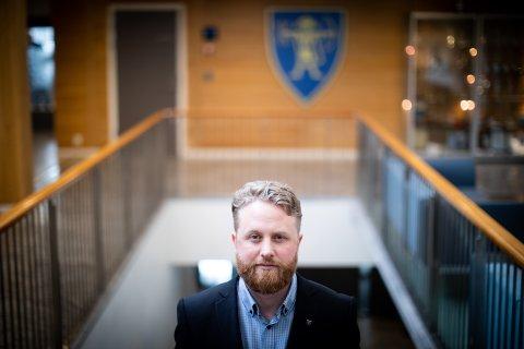 UTEN ERFARING: Eyvind Jørgensen Schumacher var fersk som ordfører da koronapandemien rammet Ullensaker hardt.