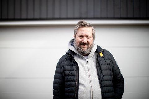 FULL POTT: Roar Stene Granlund har slitt med lungene helt fra barnsben av og har egentlig bare ventet på at koronaviruset også skulle ramme han.
