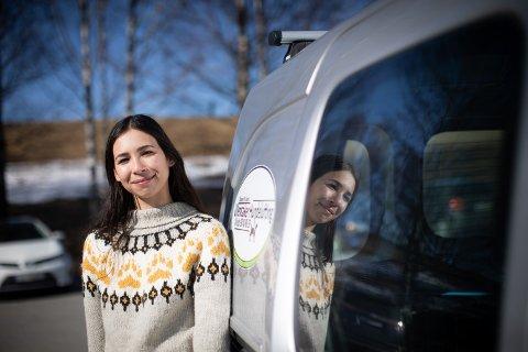 STARTET FOR SEG SELV: Bare noen måneder etter at Elisabeth Ulvær startet sin egen bedrift, kom koronapandemien til Norge. Det har gjort det utfordrende å komme i kontakt med nye kunder.