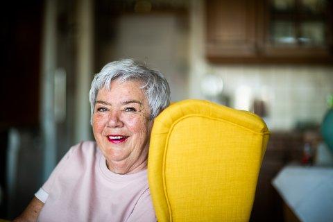 ALLES MOR: Gudny Ilbråten har alltid hatt huset fullt av barn. Det endrer seg ikke selv om hun nå blir pensjonist.