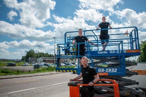 SATSET OG VANT: Starten på 2020 ble i overkant spennende for de tre kameratene Hans Christian Fjeldberg (øverst), Christoffer Finset (i midten) og Jan Erik Gjersdal. Så løsnet alt.