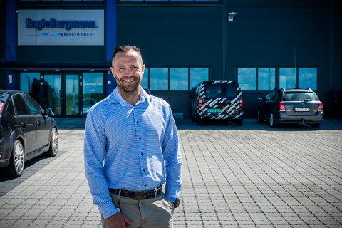 STORFORNØYD: Kristian Malnes i Eagleburgmann Norway er overveldet over responsen på stillingsannonsen selskapet nylig la ut.