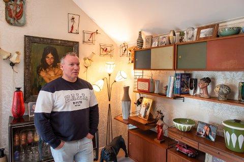 BLE BITT AV BASILLEN: Kort tid etter André Schau flyttet til Romerike, fikk han en ny interesse som i dag tar opp store deler av fritiden hans.