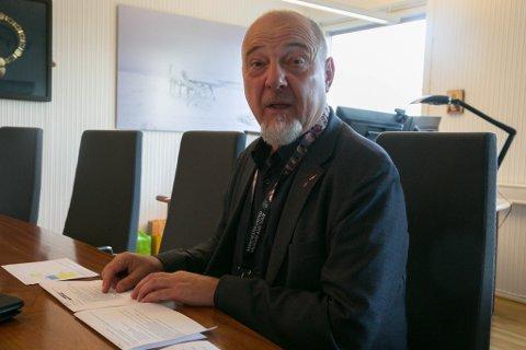 GRØNN: Rune Rafaelsen starter sin andre ordførerperiode med å komme med grønne tanker.