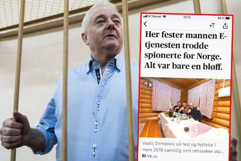 FAKSIMILE: Aftenposten har funnet dobbeltagenten som førte Frode Berg i FSBs klør.