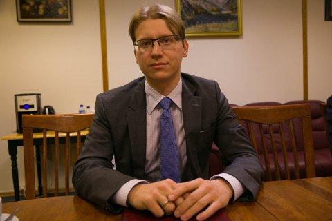 GRENSEKONSUL: Nikolay Konygin (37) er ny russisk grensekonsul i Kirkenes.