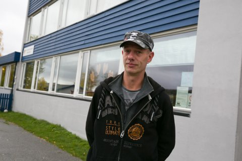 LIV: Velforeningsleder og FAU-leder Stig Morten Lie mener skolen bidar til å opprettholde livet i bygda. Det skal kjempes hardt for skolen også i tiden som kommer.