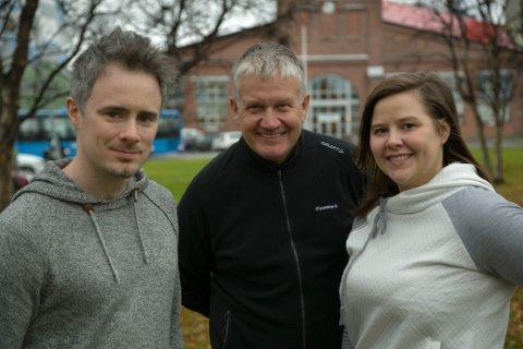 REDAKSJONEN: Stian Hansen, Tor Sandø og Vilde Pedersen.