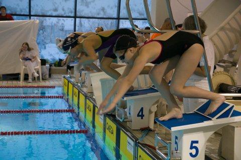 KLAR: Svømmerne er klare for dyst i helgens LÅMØ.