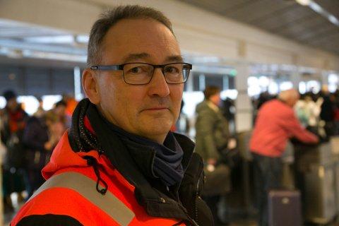 FLYPLASSJEF: Avinors lufthavnssjef ved Kirkenes lufthavn, Høybuktmoen, Rell Erling Kjølås.