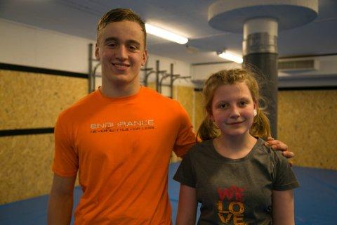 NM: Emilie Mari Fjelldal og Edvard Wartiainen skal sammen med Anatolij Bogdanov representere Kirkenes Atletklubb i klubbens eget NM for ungdom og junior i mars.