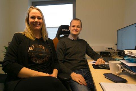 DRØM: Optimal Digital er Susanne Olsens store drøm. Hun er glad hun fikk med seg Olavi Ivask med på laget.