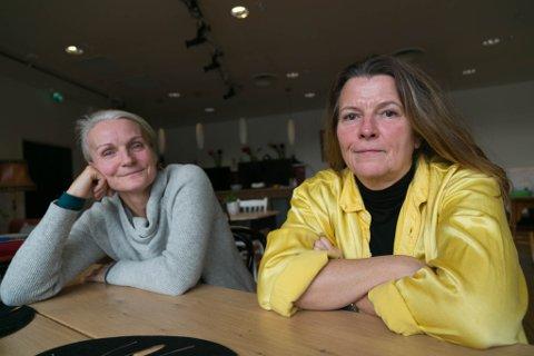 TURID OG BENTE: Turid Skoglund (til venstre) står bak en oppegående 30-åring og har store planer for Samoverteatret i framtiden.