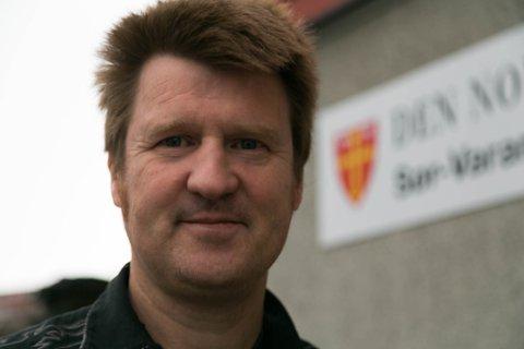 ANDRE: Øystein Solberg Mathisen er i gang med sin andre periode som prest i Sør-Varanger menighet.