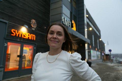 FESTMODUS: Selv om koronapandemien legger en liten demper på jubileet, så blir det jubileumsuke på Amfi-senteret i Kirkenes