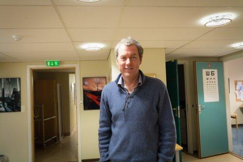 SJEF: Harald Sunde har jobbet som medisinsk fagsjef i ti år, men savner av og til å jobbe med kollegene på gulvet.