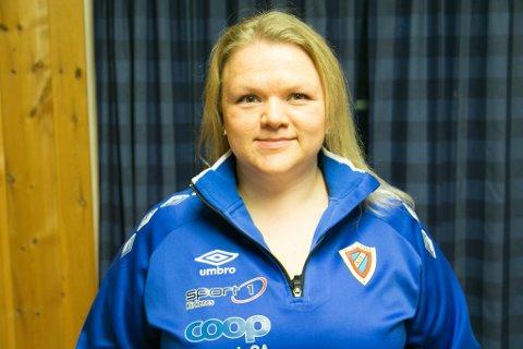 DAGLIG LEDER: Anna Lankinen er ny daglig leder i Kirkenes IF.
